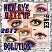 tutorial eye make up icon