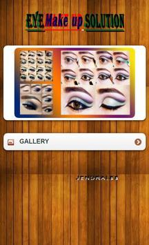 tutorial eye make up poster