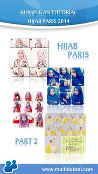 Tutorial Hijab Paris 2 poster