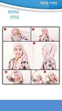 Tutorial Hijab Paris 2 apk screenshot
