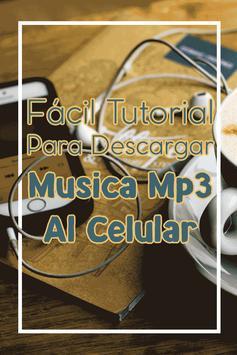Bajar Musica mp3 a mi Celular Gratis y Facil Guia apk screenshot