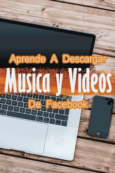 Descargar Musica y Videos de Fb Guide Gratis screenshot 1