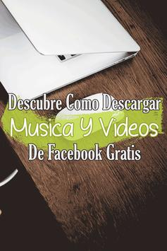 Descargar Musica y Videos de Fb Guide Gratis screenshot 2