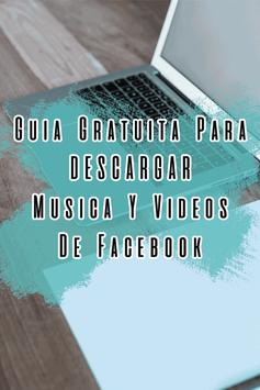 Descargar Musica y Videos de Fb Guide Gratis screenshot 4