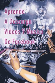 Descargar Videos y Musica de FaceFree Guide screenshot 1