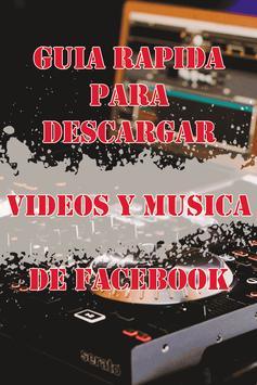 Descargar Videos y Musica de FaceFree Guide screenshot 3