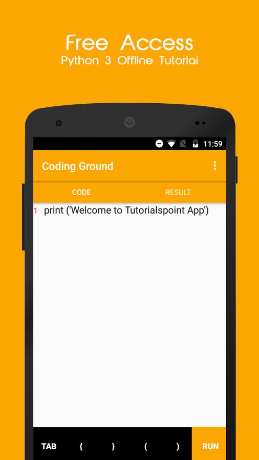 Python3 Offline Tutorial for Android - APK Download