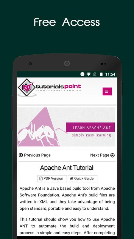 Tutorials Point Online Courses For Android Apk Download