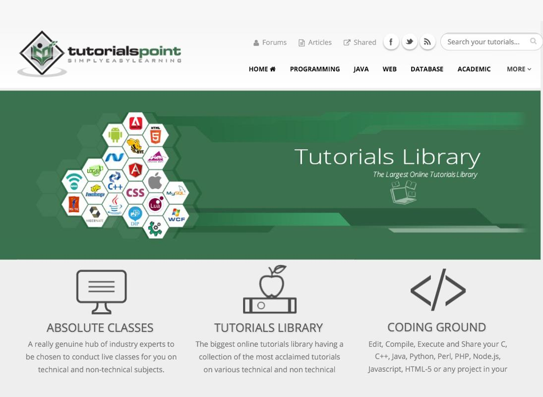 Tutorials Point Online Courses for Android - APK Download