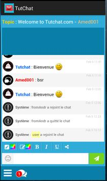tutchat chat gratuit apk screenshot - Chatt Gratuit