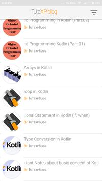 Tutexp Blog apk screenshot