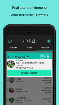 tutit-On Demand Virtual Tutoring screenshot 5