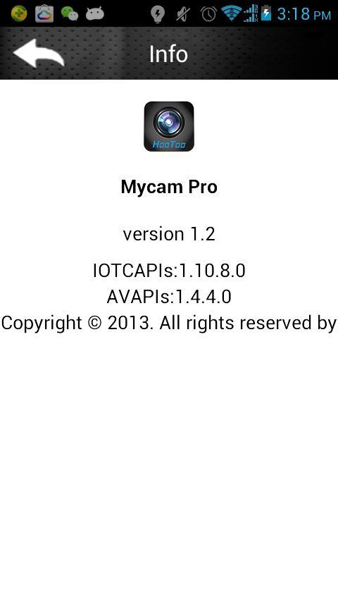 Mycam View App