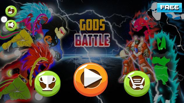 Battle of Gods Fighter apk screenshot