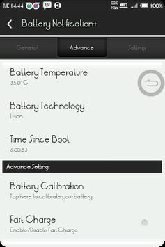 BatteryNotification+ screenshot 3