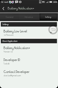 BatteryNotification+ screenshot 5