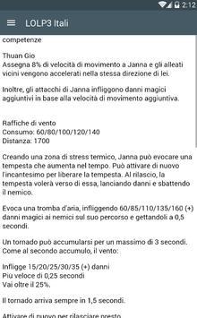 LOLP3 Itali poster