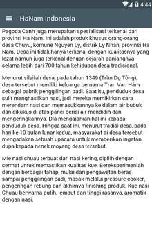 Hanam Indonesia poster