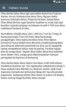 Hanam Sunda apk screenshot