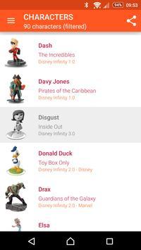 My Disney Infinity Collection apk screenshot