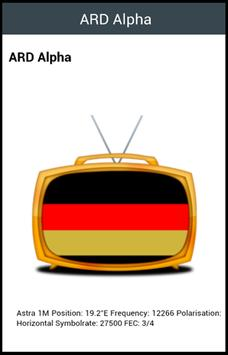 All TV Germany apk screenshot
