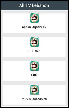 All TV Lebanon poster