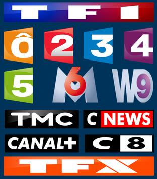 French TV Channels Free 2018 poster