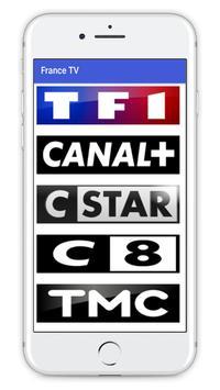 French TV Channels Free 2018 screenshot 2