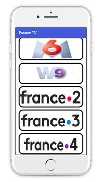 French TV Channels Free 2018 screenshot 4