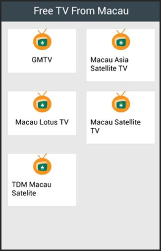 Free TV From Macau for Android - APK Download