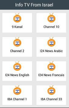 Info TV From Israel for Android - APK Download