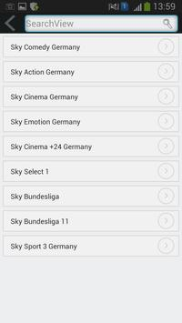 Tv Sat info Germany 2016 apk screenshot