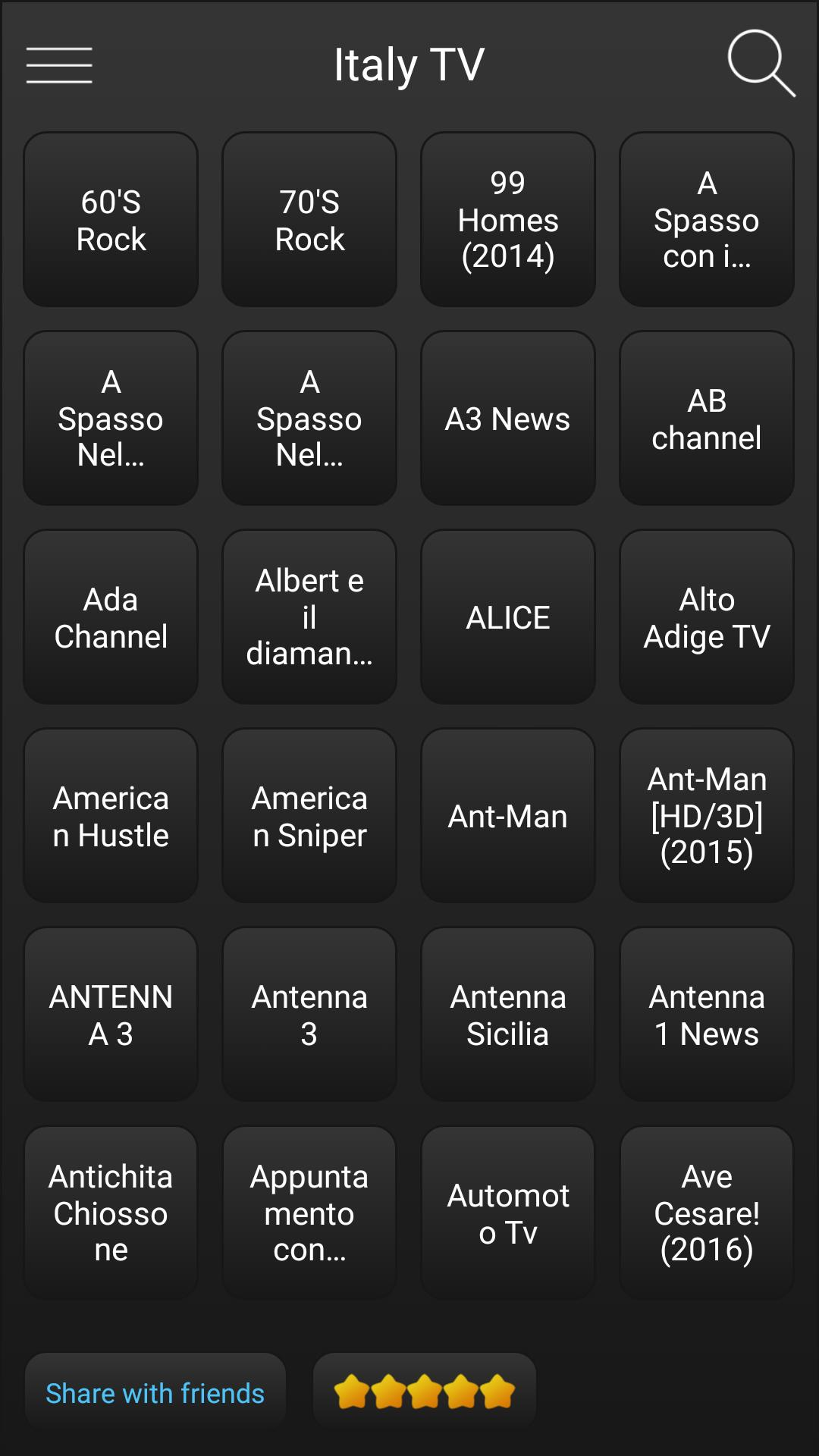 Italy TV Italian Television for Android - APK Download