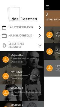 DesLettres apk screenshot