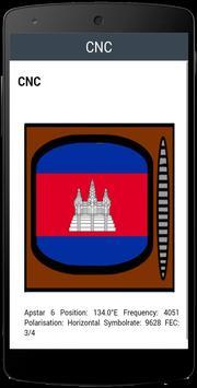 TV Channel Online Cambodia screenshot 1