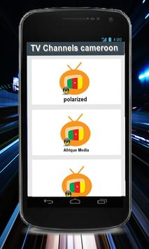 TV Channels cameroon poster