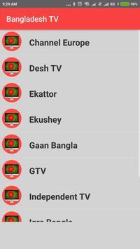 Bangladesh TV - Enjoy Bangla TV Channels in HD ! screenshot 3