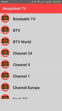 Bangladesh TV - Enjoy Bangla TV Channels in HD ! screenshot 2