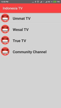 Indonesia TV - Enjoy Indonesia TV Channels in HD ! apk screenshot