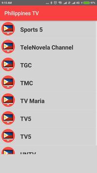 Philippines TV - Enjoy Philippines TV CHannels HD! apk screenshot