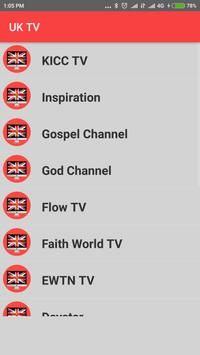 United Kingdom TV - Enjoy UK TV Channels in HD ! screenshot 2