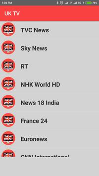 United Kingdom TV - Enjoy UK TV Channels in HD ! screenshot 3