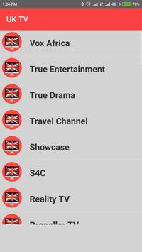 United Kingdom TV - Enjoy UK TV Channels in HD ! screenshot 4