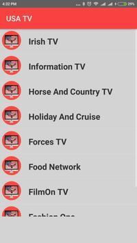 USA TV - Enjoy USA TV Channels in HD ! apk screenshot