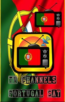 TV Channels Portugal Sat poster