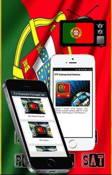 TV Channels Portugal Sat screenshot 1