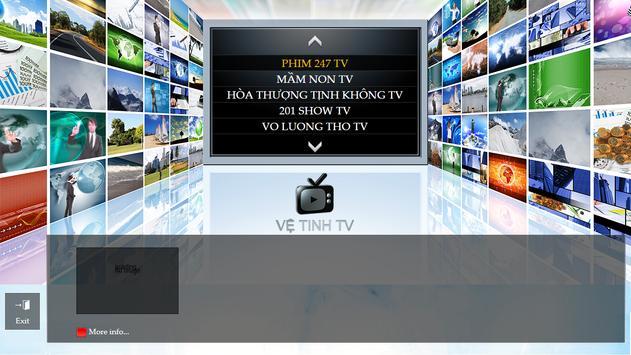 Ve Tinh TV apk screenshot