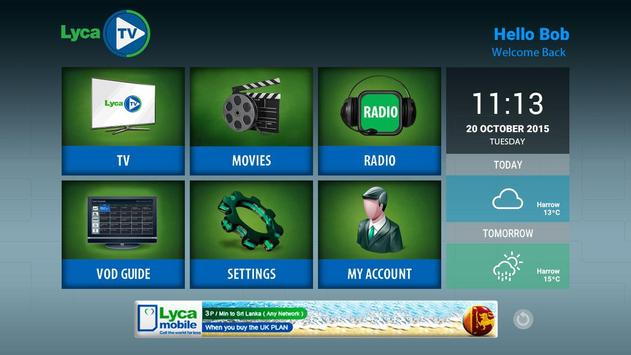LycaTV for Android - APK Download