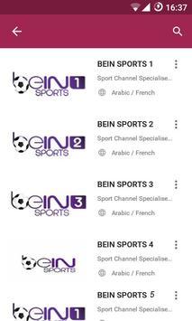 ALL Ben Sport Free TV apk screenshot