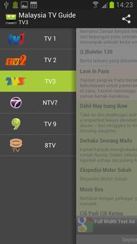 Tv channel guide picture of genting view resort, genting.